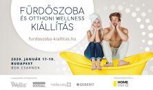 Fürdőszoba és Otthoni Wellness Kiállítás (Egyszeri belépésre jogosít 2020.01.17-19. között)