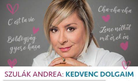 SZULÁK ANDREA - Kedvenc dolgaim c. koncert