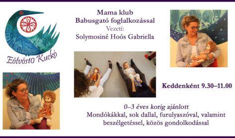 Mama klub Babusgató foglalkozással
