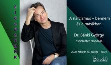 """""""ElőadáSOKK"""" - A nárcizmus – bennem és a másikban - Előadó: Dr. Bánki György"""