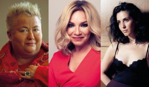 Pop, swing & soul: Falusi Mariann, Szűcs Gabi, Váczi Eszter