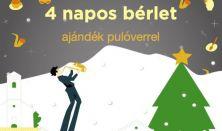 Bondoró Utcaszínház Fesztivál 4 napos bérlet pulóverrel