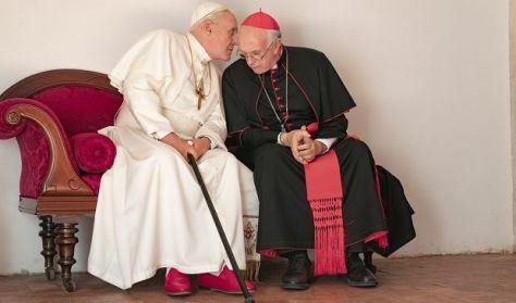 A két pápa - filmvetítés és beszélgetés