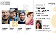 APOSZTRÓF Est – Tandori és Pilinszky -