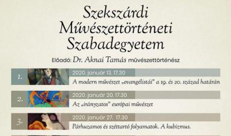 """Dr. Aknai Tamás: A modern művészet """"evangélistái"""" a 19. és 20. század határán"""
