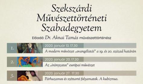 """Dr. Aknai Tamás: Az """"irányzatos"""" európai művészet"""
