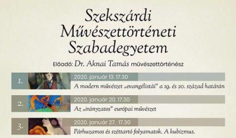 Dr. Aknai Tamás: Párhuzamos és széttartó folyamatok. A kubizmus.