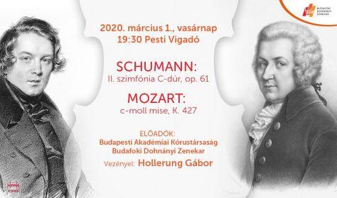 VIGADÓ 1 - SCHUMANN // MOZART // HOLLERUNG