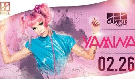 CAMPUS Party - Yamina