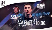 CAMPUS Party - DJ Gozth; Ben Jr.