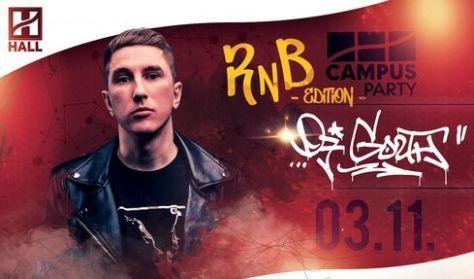 CAMPUS Party - RNB - DJ Gozth // DE hallgatói