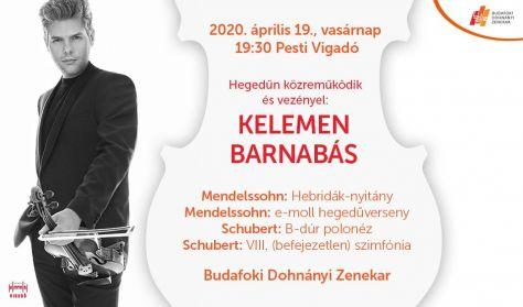 Vigadó 2 - Mendelssohn / Schubert / Kelemen Barnabás