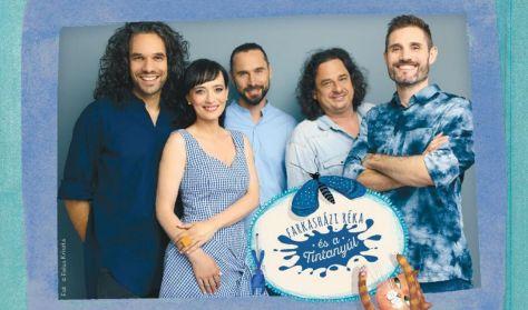 Farkasházi Réka és a Tintanyúl - Életmesék  - családi koncert a Fonogram-díjas zenekar új dalaival