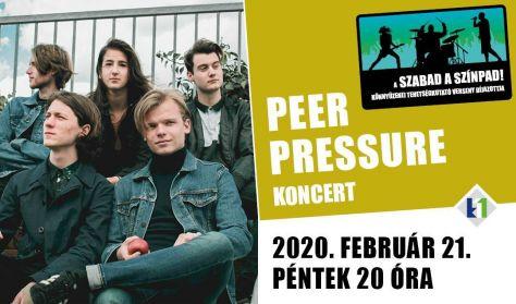 PEER PRESSURE koncert