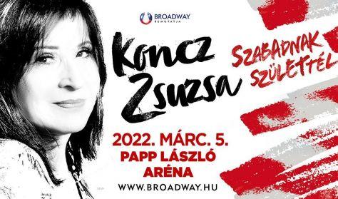 Koncz Zsuzsa Aréna koncert 2022