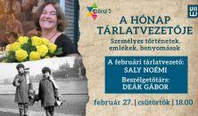 A hónap tárlatvezetője: Saly Noémi