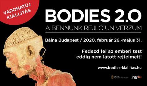 Kiállítás Ajándékjegy- BODIES 2.0 - A bennünk rejlő univerzum