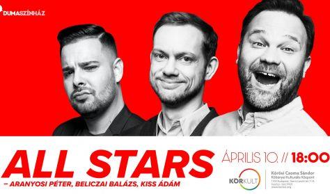 All stars - Aranyosi Péter, Beliczai Balázs, Kiss Ádám