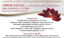 APRÓK PÁVÁJA - A Fölszállott a páva Gálaműsora