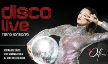 Koncert + tapas tál – Disco Live