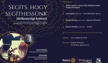 SEGÍTS, HOGY SEGÍTHESSÜNK - Jótékonysági koncert