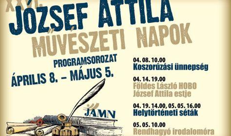 """JAMN – Földes László-Hobo József Attila estje – """"Tudod, hogy nincs bocsánat!"""""""