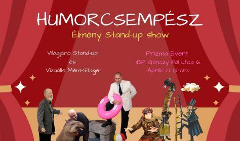 Humorcsempész Élmény Stand-Up Show