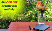 Élő ONLINE kreatív írás műhely