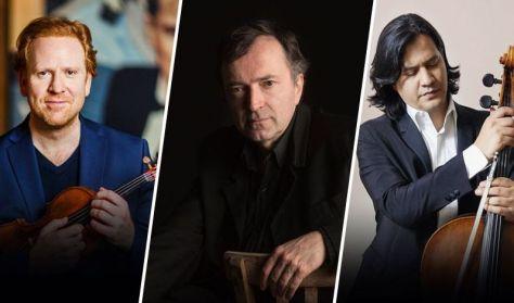 Daniel Hope, Nagy Péter és Claudio Bohorquez
