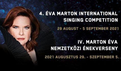 IV. Nemzetközi Marton Éva Énekverseny Döntő