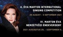 IV. Nemzetközi Marton Éva Énekverseny Gála