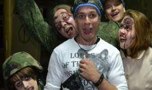 Zombi tag –  Interaktív horrorszínház - minimum létszám: 10 fő
