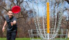 Frizbi Golf a Mátrában -  új családi tömegsport (2-10 fő)