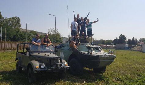 BRDM-2 Harckocsi vezetés / (Min. létszám 8 fő)