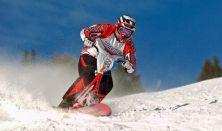 Snowscooter túrák Normafán / Snowscooter bérlés (1 nap)