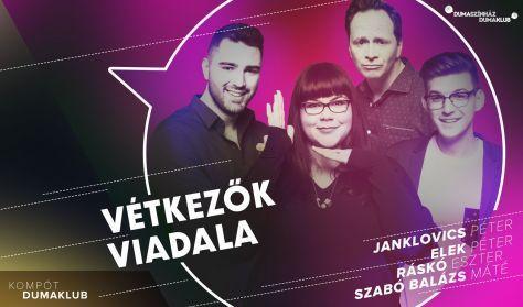Vétkezők viadala - Janklovics Péter, Musimbe Dennis, Ráskó Eszter, Szabó Balázs Máté