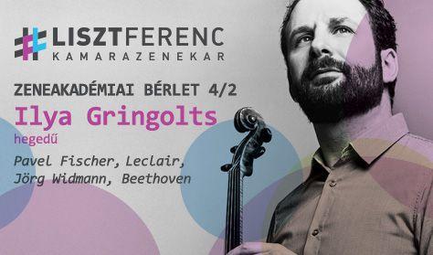 A Liszt Ferenc Kamarazenekar és Ilya Gringolts (hegedű)