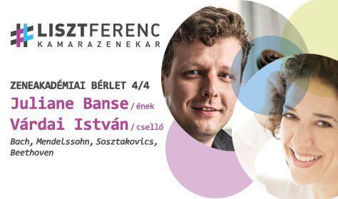 A Liszt Ferenc Kamarazenekar és Juliane Banse (ének), Várdai István (cselló)