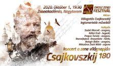 Csajkovszkij 180 - OROSZ ZENEI FESZTIVÁL