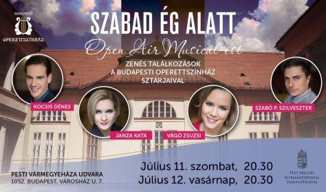 Open air-Musicalest SZABAD ÉG ALATT