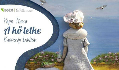 EKMK: A KŐ LELKE- Kavicskép kiállítás. Megtekinthető július 28-ig hétfő kivételével 9-17 óráig.