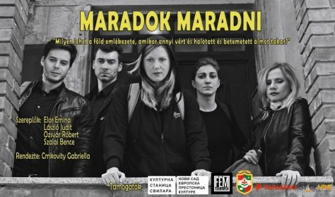 MARADOK MARADNI (vART Klub, Újvidék)
