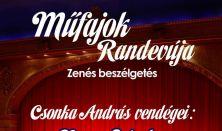 Műfajok Randevúja - Zenés beszélgetés / Csonka András vendégei: Nagy Sándor és Szente Vajk
