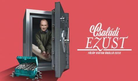 Családi ezüst - Fülöp Viktor önálló estje - TV-felvétel főpróba