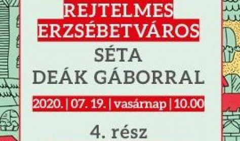 Séta Deák Gáborral - 4. rész: Útban a liget felé