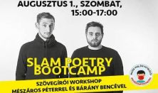 Slam Poetry Bootcamp -szövegírói workshop
