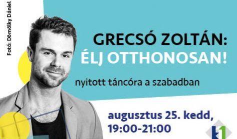 Élj otthonosan! tánc workshop Grecsó Zolival