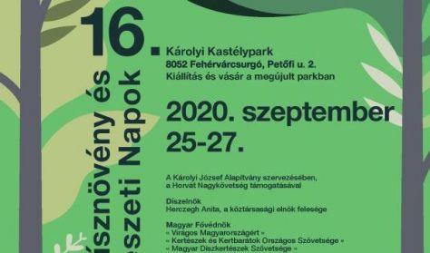 16. Európai Dísznövény és Kertművészeti Napok
