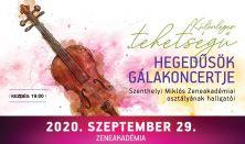 Különleges tehetségű hegedűsök gálakoncertje - Szenthelyi Miklós zeneakadémiai osztályának hallgatói