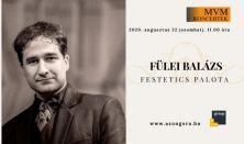 Fülei Balázs zongora koncertje